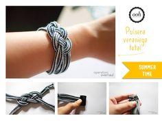 DIY pulsera de cuerda
