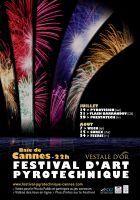 Festival d'Art Pyrotechnique de Cannes Summer Festivities