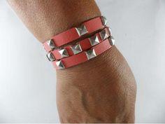 Bracelete Taxinha Coral - R$22.00