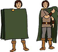 Keltisk mantel - Unga Fakta