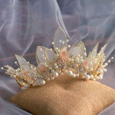 Headpiece Jewelry, Hair Jewelry, Bridal Jewelry, Bridal Hair Accessories, Jewelry Accessories, Crown Aesthetic, Magical Jewelry, Accesorios Casual, Fantasy Jewelry