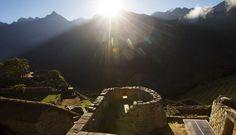 Machu Picchu at the winter solstice #Peru