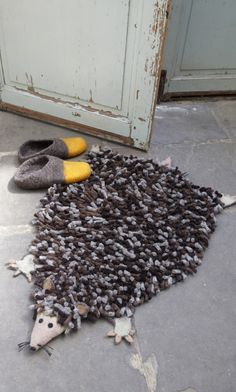 Objects of Design #203: Hedgehog Rug   Mad About The House