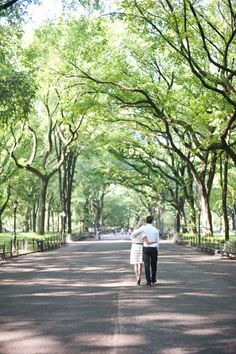 central park engagement photos.   love this part of the park!