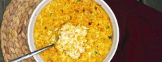 Lightened Up Baked Sweet Corn and Poblano Pudding