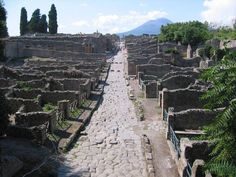 Pompeii and its inhabitants were the unfortunate victims of the catastrophic volcanic eruption in 79 AD. Spanning two days, Mount Vesuvius' eruption completely buried the Roman city under ash and pumice. It remained lost for over 1700 years until a farmer stumbled upon the ruins in 1749.
