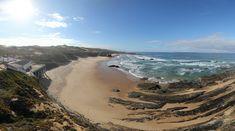360º Virtual Visit to Praia de Almograve, Alentejo, Portugal - via www.visitasvirtuais.com