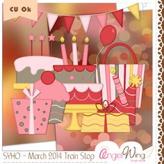 Angel Wing Scraps: Scrappin' Your ♥ Out Blog Train :: March 2014*