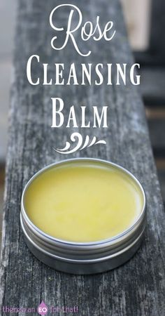 Rose Cleansing Balm for removing make-up without a hitch!