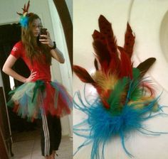 Homemade Parrot Costume by @nmann09 =]