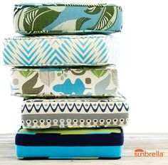 Modern Bungalow, a fresh new collection of indoor/outdoor fabrics,