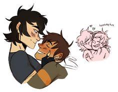 Kiss kiss / klance