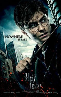 Harry Potter and the Deathly Hallows: Part I posters for sale online. Buy Harry Potter and the Deathly Hallows: Part I movie posters from Movie Poster Shop. We're your movie poster source for new releases and vintage movie posters. Harry Potter Poster, Photo Harry Potter, Images Harry Potter, Mundo Harry Potter, Harry Potter Wizard, Harry Potter Movies, Harry Potter World, Deathly Hallows Part 1, Harry Potter Deathly Hallows