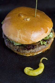 Le Comptoir Gascon, London   Duck Burger  http://www.squaremeal.co.uk/restaurant/le-comptoir-gascon  #burger #food #London #duck