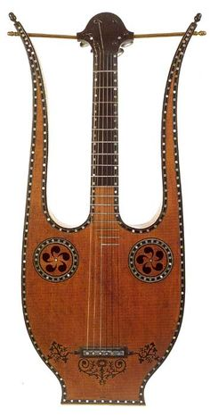 French Lyre Check out http://GreatGuitarLessonsOnline.com #guitars #guitarlessons #playguitar