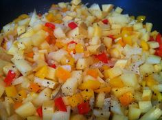 """""""Potatoes"""" O'Brien Now that I have discovered what a great substitution for potatoes rutabaga is, the possibilities are endless. They are sweet and delicious. Be careful though because they are very easily mistaken for turnips in the grocery store. The first time I wanted to make this recipe we had mistakenly bought turnips and they..."""