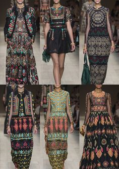 Paris Fashion Week   Spring/Summer 2014   Print Highlights Part 3 catwalks Valentino S/S 2014