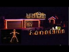 Halloween Musical Light Show 2013 to The Fox - or What does the Fox Say by Ylvis