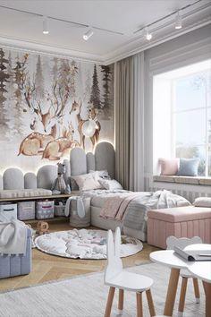 Luxury Kids Bedroom, Luxury Rooms, Luxurious Bedrooms, Kids Bedroom Designs, Home Room Design, Kids Room Design, Baby Room Decor, Bedroom Decor, House Rooms