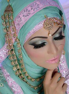 beautifulsouthasianbrides:  MU by:Lubna Nazir