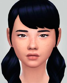 C.A.S. face overlay collection download dewy skin pack download glossed eyes download aoki freckles download gtw alien eyeliner download tiny winged liner download lucid skin download nose & ear...