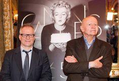 Gilles Jacob, président du 65e Festival de Cannes et Thierry Fremaux, délégué général du Festival.