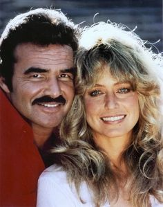 farrah fawcett caricature   Farrah Fawcett et sa co-vedette Burt Reynolds à l'époque de ...
