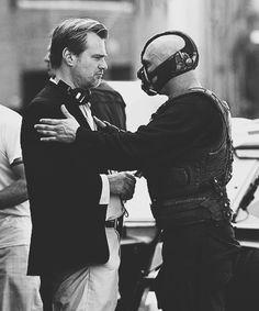 Chris Nolan and Tom Hardy