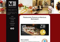 Diseño de página web para Restaurante en Benicassim. http://www.dipixel.es/