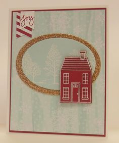 Holiday home,Stampin' Up!