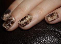 Real Snakeskin Manicure DIY Tutorial