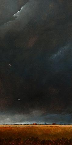 the darkened sky no. 2. ~ acrylic ~ by mark fletcher