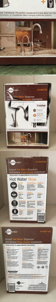 Hot Cold Water Dispensers 121848: Insinkerator H Viewsn Ss Involve View Hot  Water