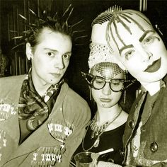'Trojan, Nicola Bowery and Leigh Bowery, Taboo by Dave Swindells Taboo Club, Michael Alig, Leigh Bowery, Kalter Winter, Blitz Kids, Demin Jacket, Stranger Things Steve, London Clubs, London College Of Fashion