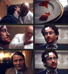 "Will ""DO NOT MOISTURIZE ME"" Graham. Hannibal 3x07 Digestivo. Source: existingcharactersdiehorribly.tumblr"