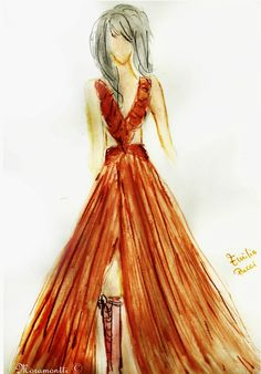 Moramontti's Fashion Illustrations - Pucci Fashion plate