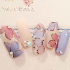 Cute Nail Art Ideas to Try - Nailschick Cute Nail Art, Gel Nail Art, Cute Nails, Pretty Nails, Fabulous Nails, Gorgeous Nails, Asian Nails, Uñas Fashion, Kawaii Nails