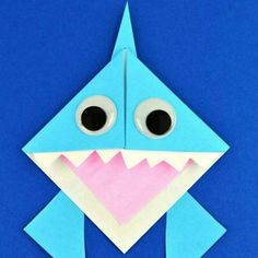 25 Scary-Fun Shark Crafts For Kids - Page 11 of 26 - Play Ideas