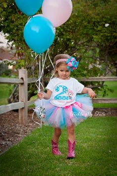 Sheriff Callie Themed Birthday Tutu Outfit, Sheriff Callie party