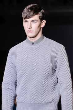 Calvin Klein Collection | Fall 2013 Menswear Collection | Style.com | mens sweater
