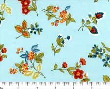 Mixed Medley Floral 100% Cotton by the Yard or Half Yard