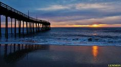 1-27-14 Avon Pier, photo by Lemmon, Outer Banks NC Local Artist Page.  Pinned from Facebook post.