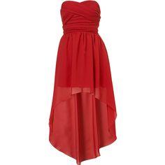 **Mullet Hem Dress by Rare found on Polyvore