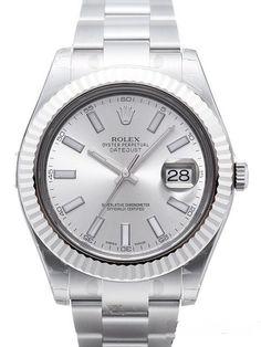 Rolex Datejust II 116334 Silber Index