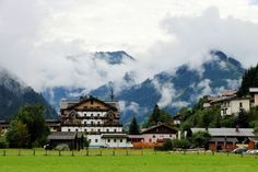 Austria, Explore, Mansions, House Styles, Home Decor, Alps, Scenery, Mansion Houses, Room Decor