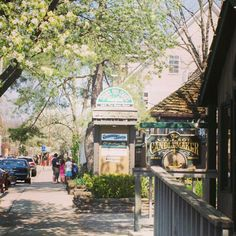 Brown County, IN.  1 1/2 hours away.  There are numerous shops for arts and crafts, as well as wineries.  Indiana's largest state park is there.  It's like a mini Gatlinburg experience, but much closer to home.