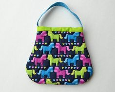 Quilted toddler purses!  Love.