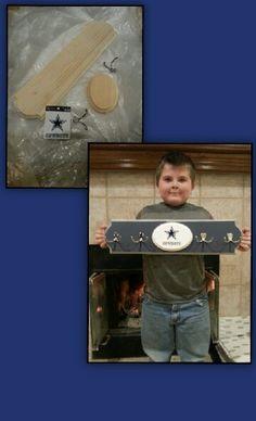 Dallas Cowboys coat rack