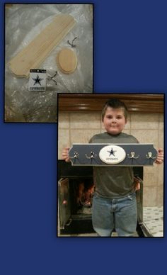 Dallas Cowboys coat rack