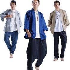 Printemps automne hommes veste lâche cardigan manteau hommes mode casual linge de haute qualité veste hip hop punk kimono style outwear A190 dans Vestes de Hommes de Vêtements et Accessoires sur AliExpress.com | Alibaba Group